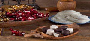 خرید پشمک شکلاتی حاج عبدالله